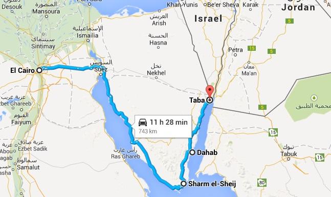 Triple cruce de frontera: de Egipto a Jordania | Life as a Turista